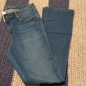 NWT LC Lauren Conrad Straight Leg Jean Size 14